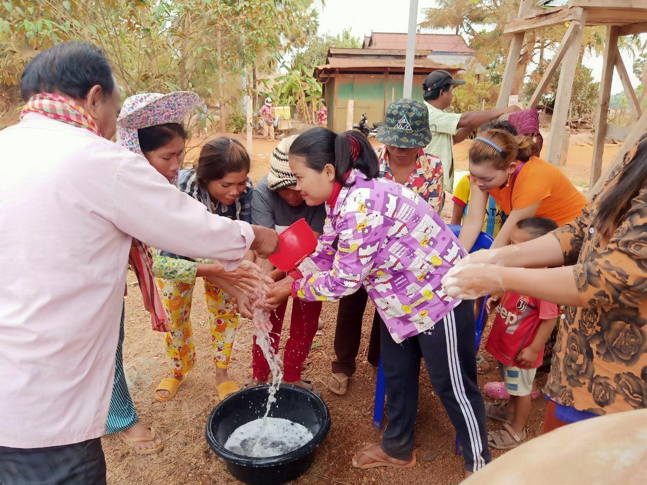 OREDA Community education on hand wash